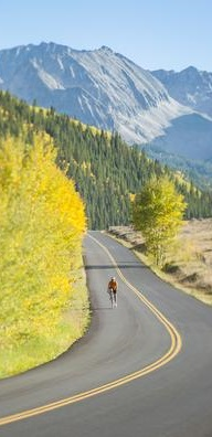 Cycling Colorado Fall
