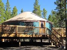 Leadville Vacation Yurt