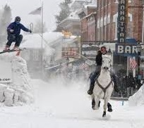 Leadville Winter Carnival Skijoring