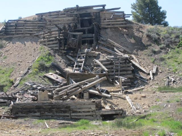 California Gulch Mine Shaft