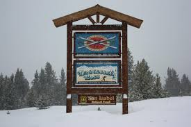 Ski Cooper Sign