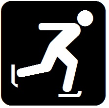 Snowshoeing Icon